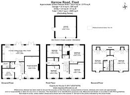 Downing Street Floor Plan Harrow Road Fleet Hampshire Gu51 6 Bed Detached House 2 500