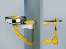 Faucet Mounted Eyewash Station Frost Proof Wall Mounted Eyewash Fixture Bradley Corporation