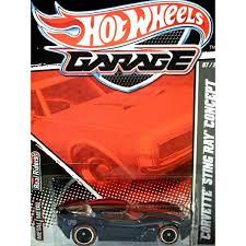 hotwheels corvette stingray wheels garage chevrolet corvette stingray concept global