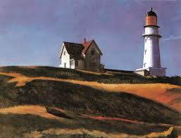 edward hopper the lighthouse at two lights 1929 oil on canvas