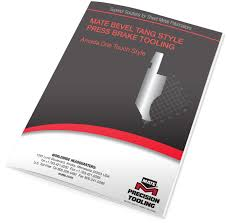 Catalog Covers by Bevel Tang Style Mate Press Brake Tooling