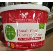 Friendship Cottage Cheese Nutrition by Simple Truth Organic Small Curd Cottage Cheese Calories
