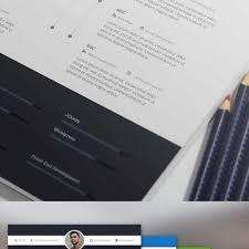 free modern resume templates psd 15 free elegant modern cv resume templates psd freebies with