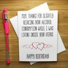 mother birthday card bday card mum funny birthday card