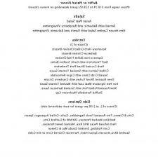 Sample Buffet Menus by Sample Wedding Buffet Menu Ideas Wedding Event Organizer