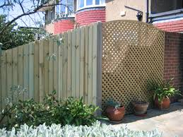 wood privacy trellis u2013 outdoor decorations