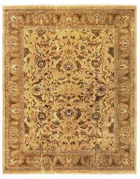 Gold Area Rugs Exquisite Rugs Polonaise Knotted Wool Yellow Gold Area Rug