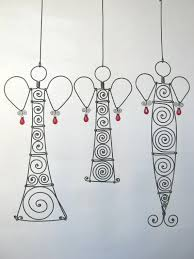 29 best wire ornaments images on wire ornaments