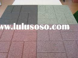 Recycled Rubber Patio Tiles by Beautiful Outdoor Flooring Tiles Rubber Rubber Pavers Recycled