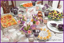 Easter Brunch Buffet by Catering By Debbi Covingtoneaster Brunch After The Sunrise Service