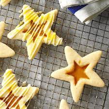 butterscotch eggnog stars recipe taste of home
