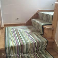 crucial trading biscayne lime stripe stair runner flooring