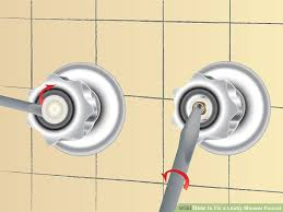 How To Repair A Leaky Faucet Handle How To Fix A Leaky Shower Faucet 11 Steps With Pictures