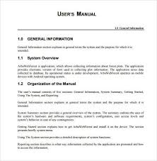 doc 600730 how to manual template u2013 word manual template 5 free