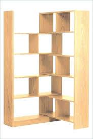 Corner Bookcase Oak Small Corner Bookshelves Custom Corner Book Shelves Small Oak