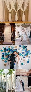 wedding backdrop diy top 20 unique backdrops for wedding ceremony ideas diy wedding