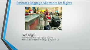 united baggage allowance coupons emirates baggage allowance for flights from usa to india youtube