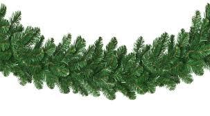 artificial garland oregon fir commercial unlit