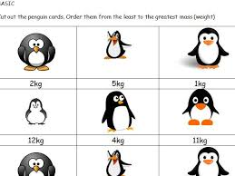 greater than less than maths penguin mass game ks1 by