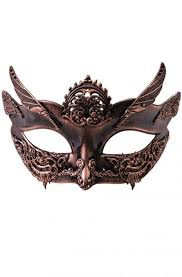 masquerade masks for women steunk masquerade mask bronze purecostumes