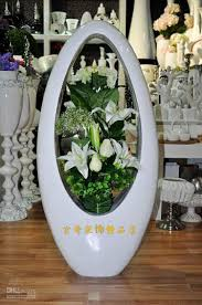 Large Floor Vases For Home 80 White Large Floor Vase Modern Fashion Flower Brief Derlook