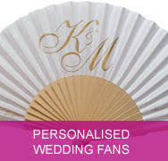 personalized wedding fans personalised wedding fans by fantastica supplier of fans