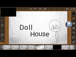 doll house drawings