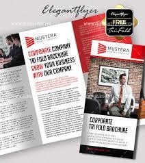 free tri fold business brochure templates 45 free psd tri fold bi fold brochures templates for promoting