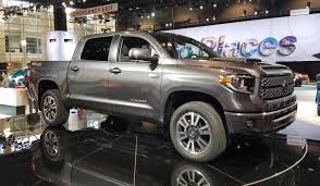 nissan tundra car 2017 chicago auto show 2018 toyota tundra trd sport the daily