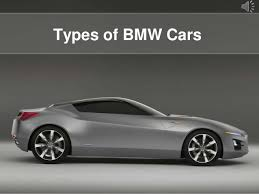 bmw types of cars most popular bmw cars
