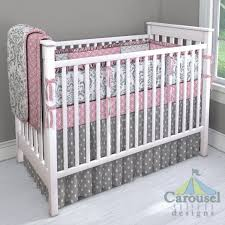 Pink And Gray Baby Bedding Sets Tags Pink And Grey Baby Bedding