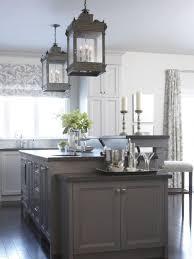 two level kitchen island storage design antique black chandeliers