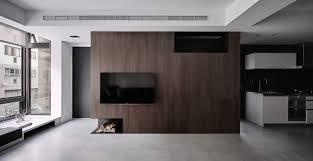 a simple apartment with a clean color palette design milk