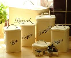 kitchen tea coffee sugar canisters vintage style canisters kitchen collection vintage