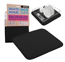 magic eco cloth dish drying mat midnight for 17 95 everten