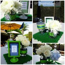 Centerpieces For A Baby Shower by 78 Best Golf Baby Shower Images On Pinterest Golf Baby Showers