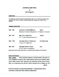 Exles Of Resumes Resume Good Objective Statements For - exles of good resume objective statements shalomhouse us
