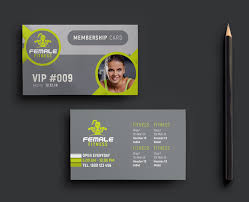 Fitness Business Card Template Female Fitness Trifold Brochure Template Brandpacks