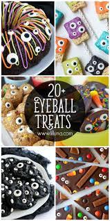 party snacks for halloween 20 eyeball treats lil u0027 luna