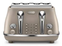 Blue 4 Slice Toaster Icona Elements 4 Slice Toaster Ctoe 4003 Bg Delonghi
