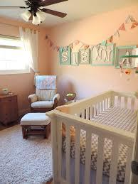 Bedroom Wall Banners Our Baby Sienna U0027s Diy Nursery Project Nursery