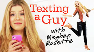 texting your crush with meghanrosette seventeen daily youtube