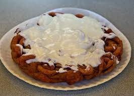 red velvet funnel cake red velvet cake mix blended with funnel