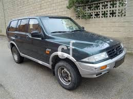 used ssangyong musso cars spain