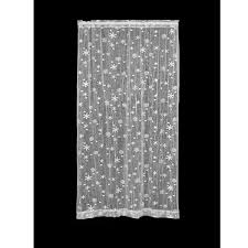 curtains lace panels snowflake curtains