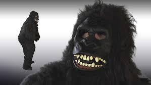Gorilla Halloween Costumes Goin Ape Gorilla Mask