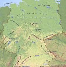 geographical map of germany germany maps by freeworldmaps net