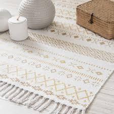 cadre paillasson interieur tapis motifs ethniques blanc et wish list maison déco