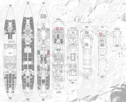 ship floor plans deck plans