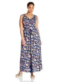 lucky brand lucky brand women u0027s plus size batik floral dress 3x